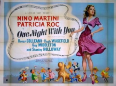 One Night with You 1948 DVD - Nino Martini / Patricia Roc